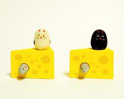 ネズミとチーズ