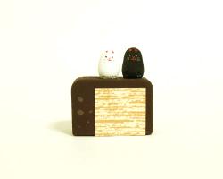 粒猫と羊羹