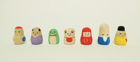 東京豆七人形